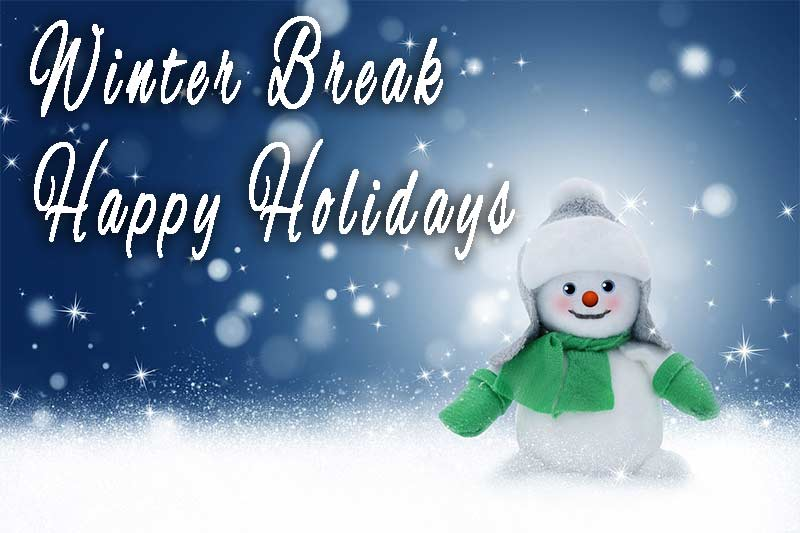 winter recess - no school